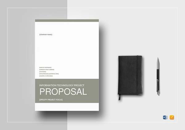 it project proposal templates