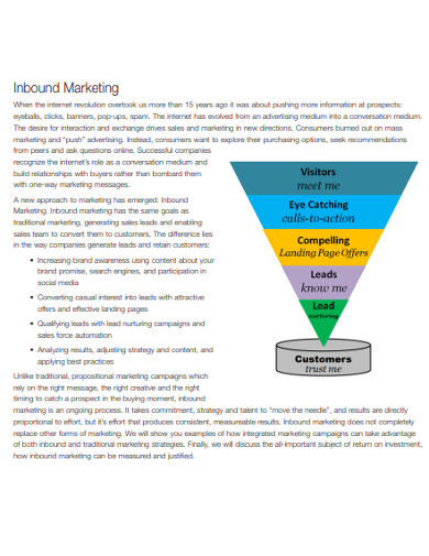 inbound marketing blueprint example