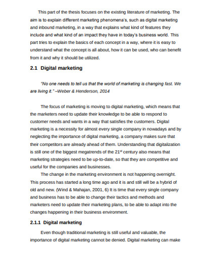 outbound digital marketing example