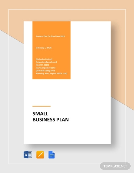 26 Business Plan Examples Startup Restaurant Small Business Examples