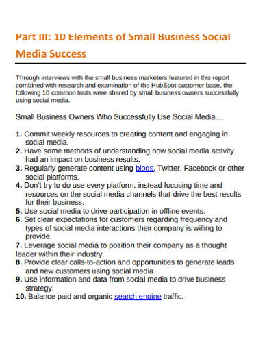 small business social media lead generation