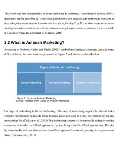 standard ambush marketing example