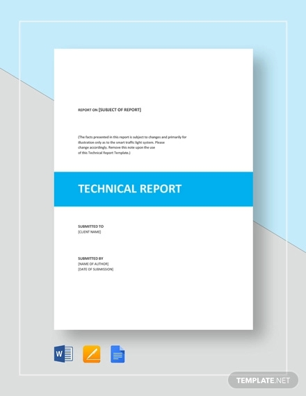 technical report template1
