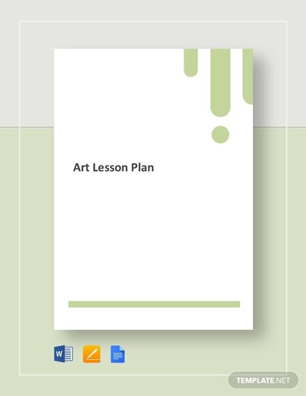 art lesson plan