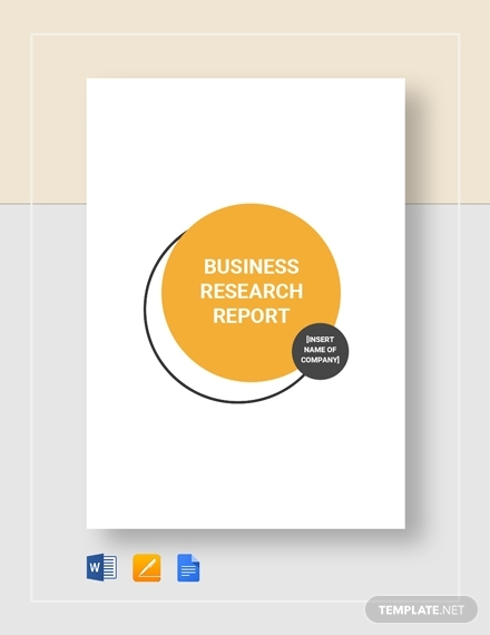 business research report 4