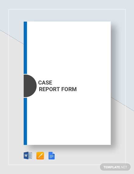 case report form 91