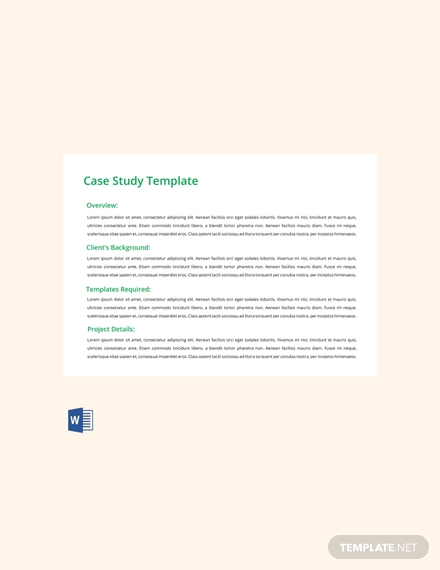 case study template free download 440x570 1