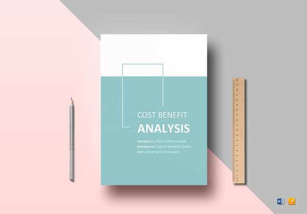 cost benefit analysis template mockup1
