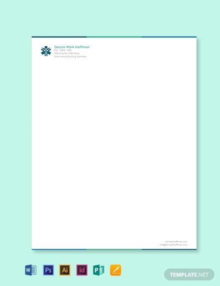 doctor letterhead template 440x570 1