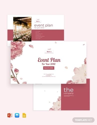 event planning presentation