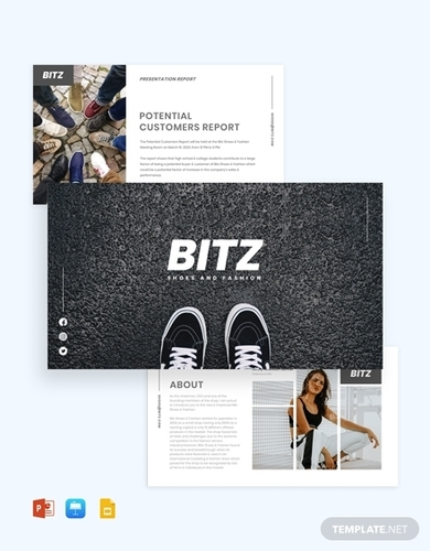 fashion shoes presentation