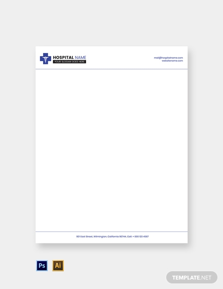 free healthcare letterhead