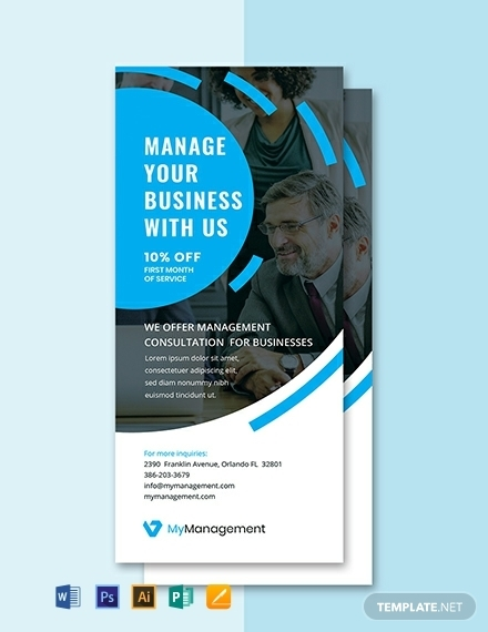 free management consulting rack card template 440x570 1 1