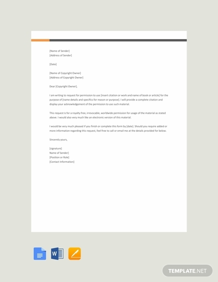 free permission request letter template 440x570 1
