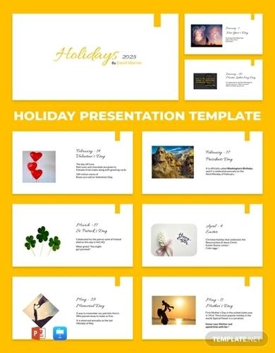 holiday presentation