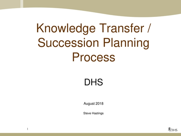knowledge transfer plan 11