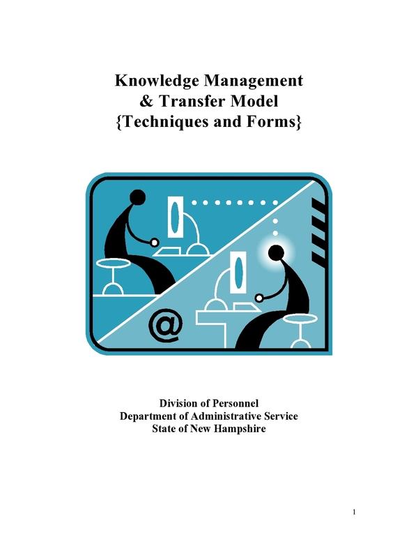 knowledge transfer plan 6