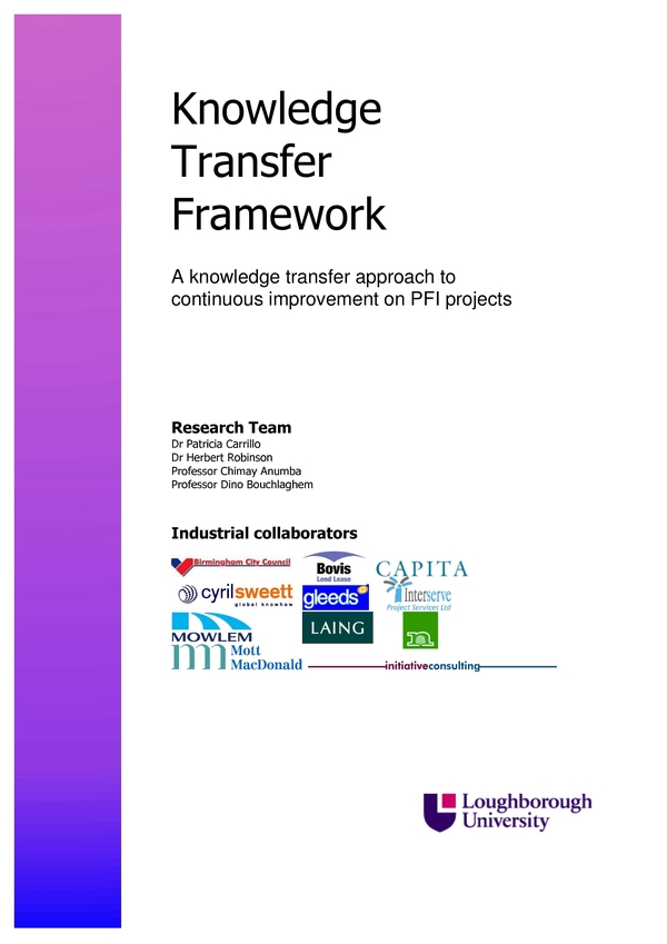 knowledge transfer plan 9