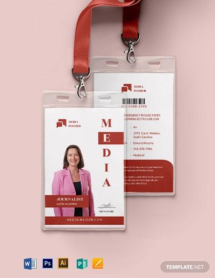 media id card