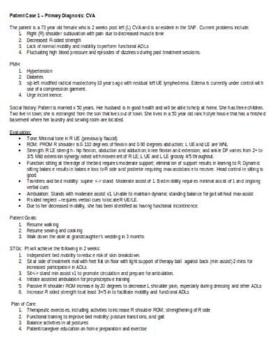 patient case study in doc