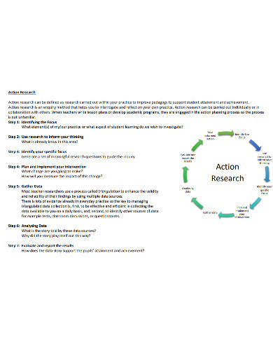 sample action research example