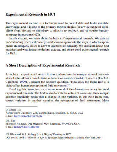 10+ Experimental Research Examples In PDF | DOC | Examples