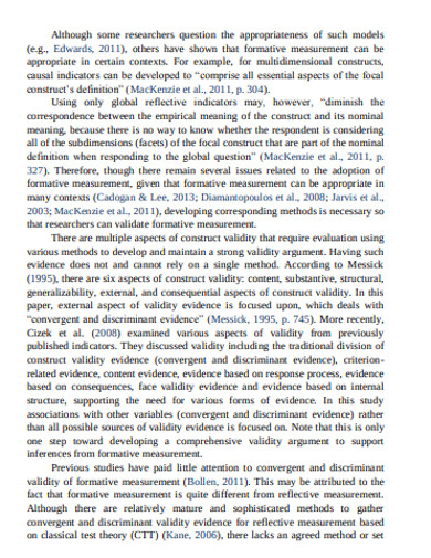 simple convergent and discriminant validity