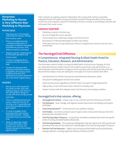 standard nursing case study