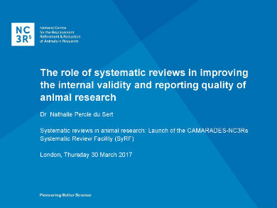 the role of systematic reviews in improving internal validity page 001