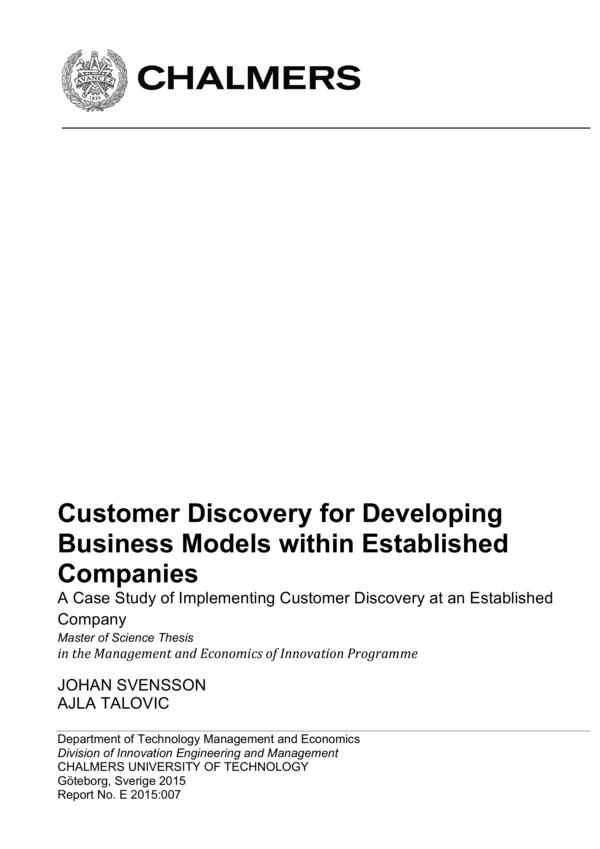 customer discovery 7