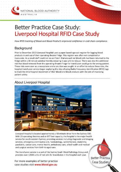 liverpool hospital rfid case study 1