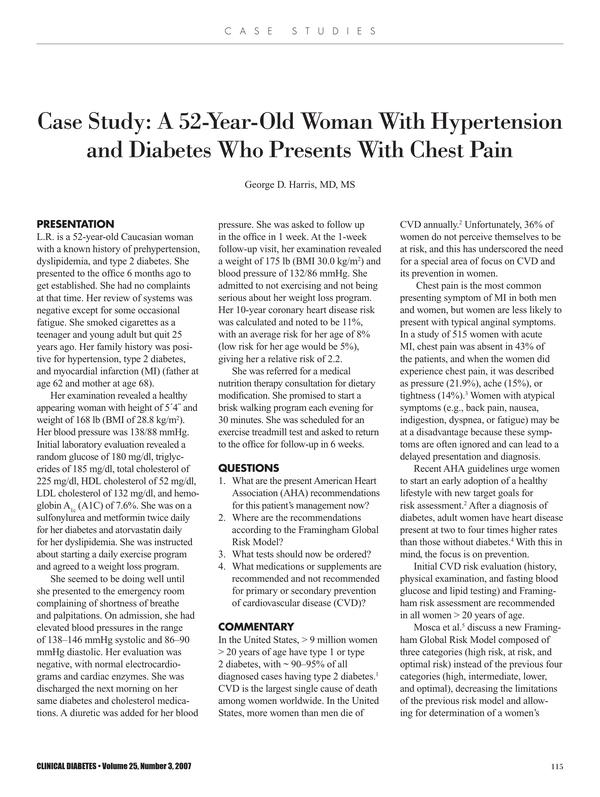 nursing case study 3
