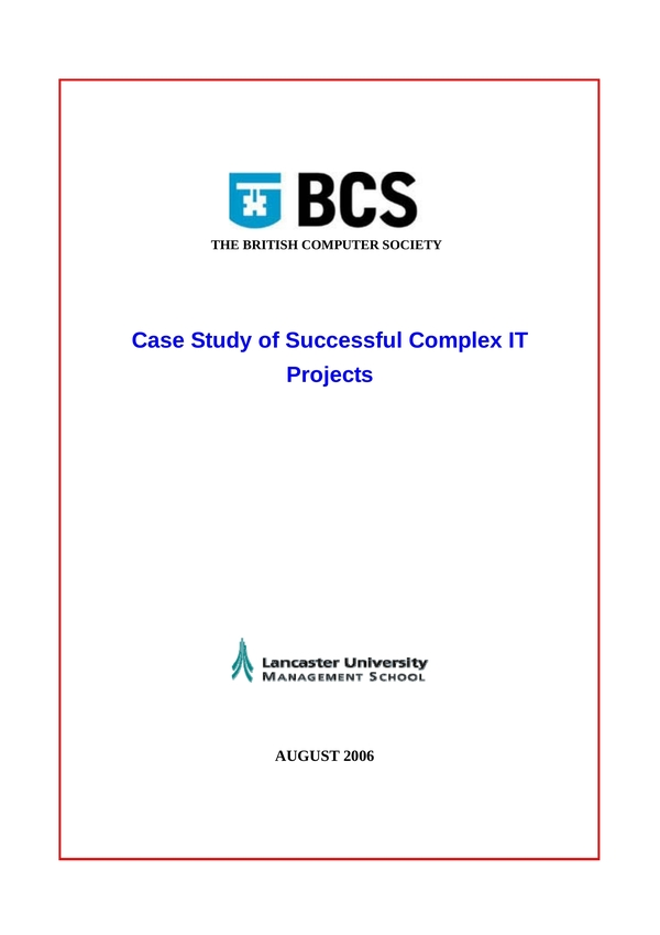 project case study 1