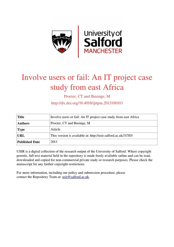 project case study 3