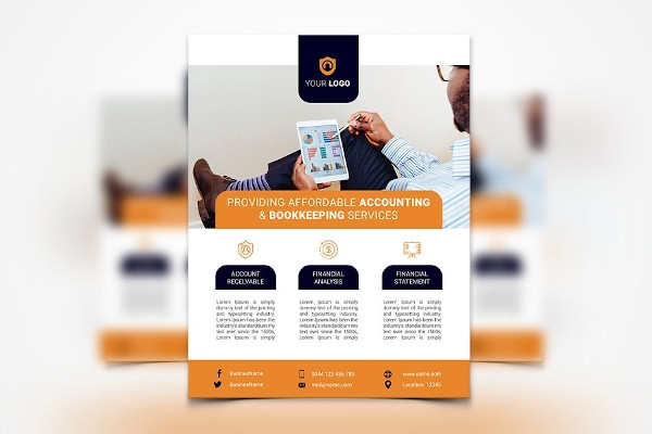 accounting services flyer example