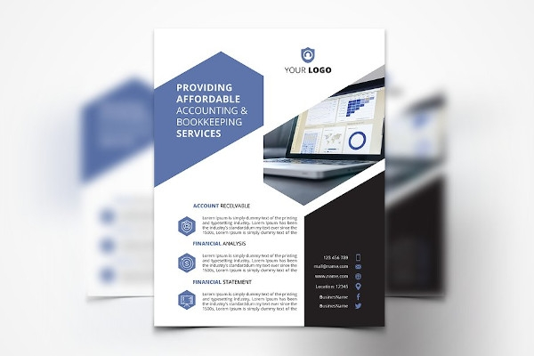 accounting services flyer