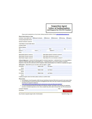 authorization request letter example