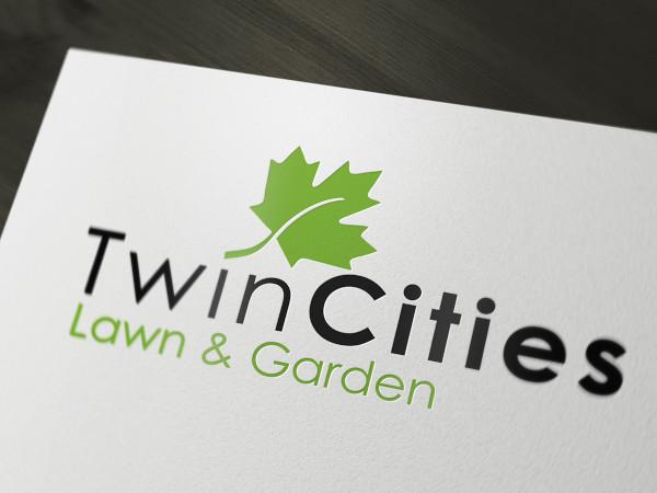 branding lawn care flyer