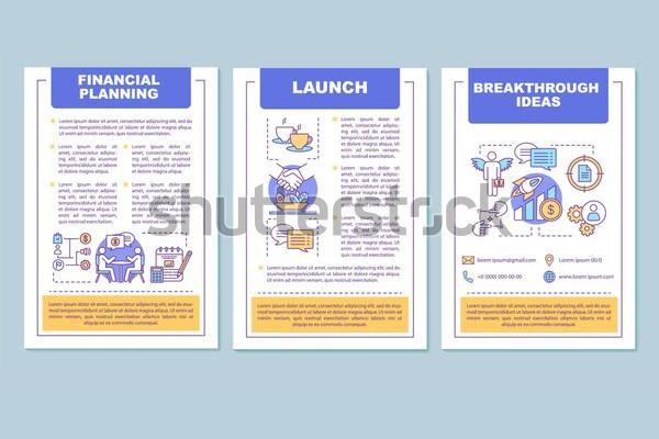 classic financial planning brochure