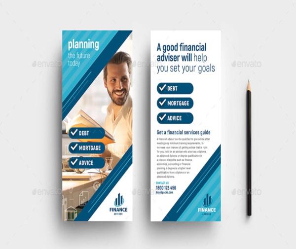 financial advisor dl rack card