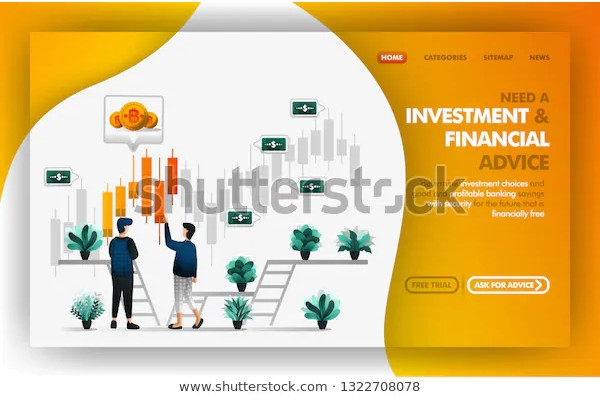 financial advisor vector example