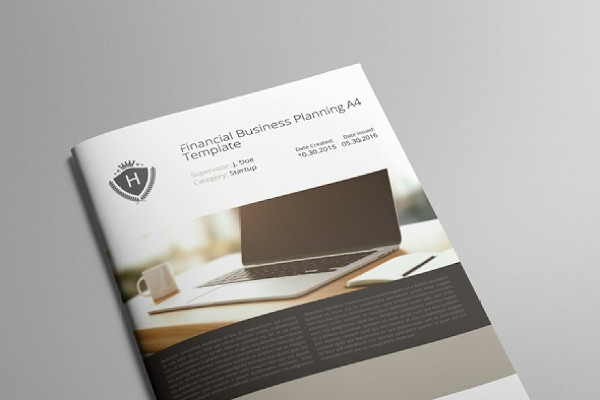 financial business planning brochure