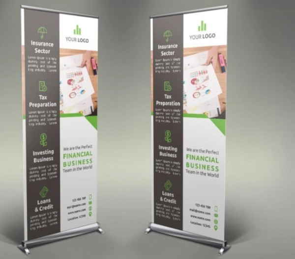 financial roll up banner example