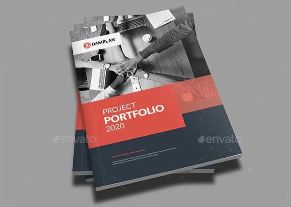 modern project portfolio example
