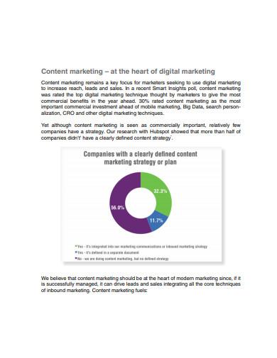 basic content marketing strategic plan