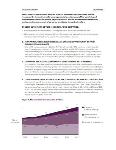 basic executive summary report format