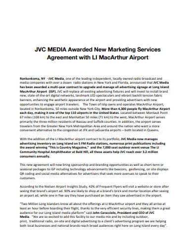 digital marketing services agreement in pdf