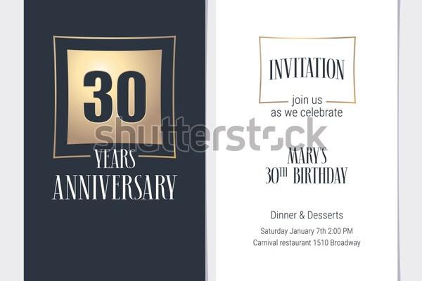 graduation anniversary party dinner invitation1