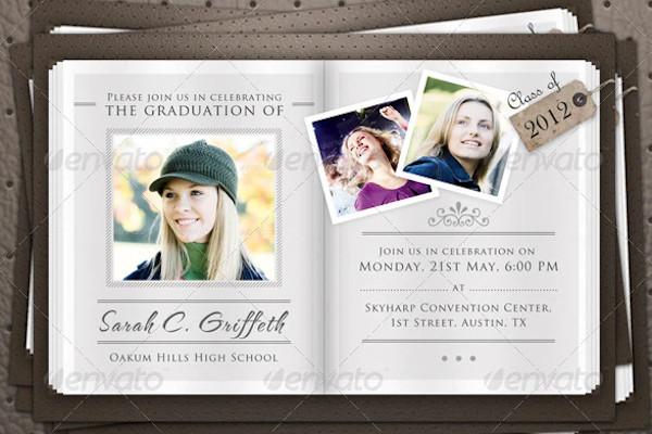 graduation announcement flyers