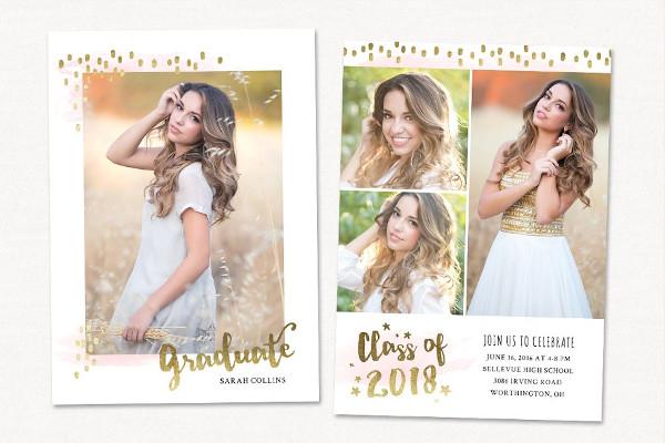graduation card ivitationtemplate